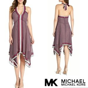 Michael KORS Dress Halter A-Line Asymmetrical 🌟